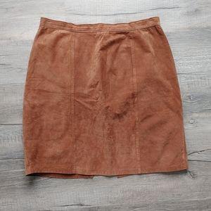 Addition Elle | vintage leather skirt
